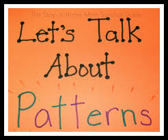 Pattern Activities For Preschoolers Interesting Patterns For Infants Toddlers And Preschool The StayatHomeMom