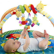 3M+plush Baby Rattle Toys mobile Crib Stroller Car Bed worm Toy caterpillar juguetes bebes jouet brinquedos enfant cadeau gift-in Rattles \u0026 Mobiles