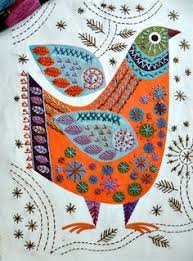 Image result for nancy nicholson bird embroidery