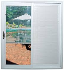 blind sliding glass door covering