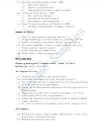 Beauty Specialist Sample Resume Salon Manager Resume Hairdresser Job Description For Owner Business 19