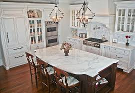 White cabinets with marble countertops Shaker Classic White Kitchen Featuring Marble Countertop Photo Source Zillow Digs 2017seasonsinfo Ways To Style White Kitchen Cabinets