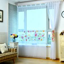 Short Curtains In Living Room Online Shop Hot Sale Modern Curtains For Kitchen Embroidered Voile