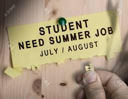 tear off not the text student need summer job over wooden stock photo tear off not the text student need summer job over wooden background