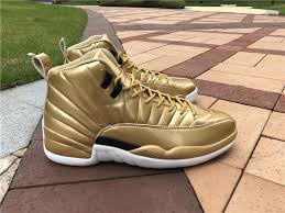 jordan shoes 12 gold. cheap-2016-air-jordan-12-xii-pinnacle-gold- jordan shoes 12 gold