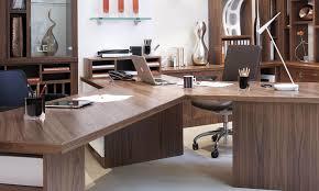 Next office desk Corner Special Feature Custom Desk Configuration Ebay Walnut Office Furniture Neville Johnson