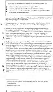 Sat Sample Essay The Sat Essay An Argument Centered Strategy Argument