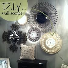 diy room lighting ideas. DIY Wall Lighting Idea Diy Room Ideas