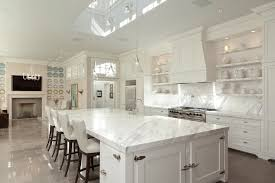 amazing all white kitchen for inspiring your own idea