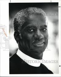 1991 Press Photo Rev Wesley Reid, Pastor of Lee Memorial A.M.E. Church |  Historic Images
