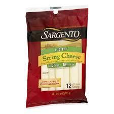 sargento light string cheese natural mozzarella cheese 12 pack 9 oz