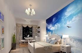 sea view 3d wallpaper for bedroom ideas