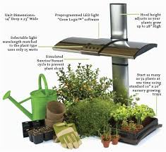 indoor garden kits. Led Grow Lights Are Applied Mostly In Horticulture Farming They Appropriate For Indoor Garden Kits