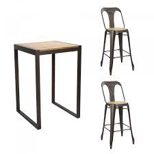 Ensemble table haute