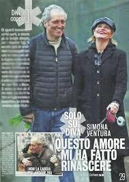 Simona Ventura col fidanzato Giovanni Terzi e i figli Caterina e Giulio  (Diva e donna)