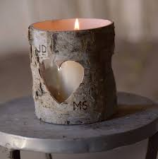 ... Attractive Accessories For Table Centerpiece Decoration With Birch Bark  Candle Holders : Comely Image Of Table ...