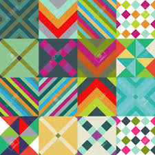 Abstract Patterns Extraordinary Abstract Patterns Set With Geometric Pattern Royalty Free Cliparts