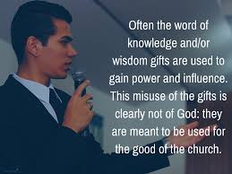 what are the spiritual gifts of the word of wisdom and the word of knowledge