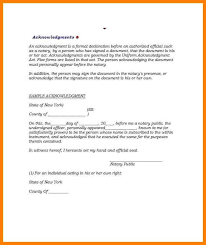 notarized letter 5 notarized document template lease template