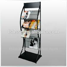 Catalogue Display Stand Impressive Floor Standing High Capacity Tiles Magazine Catalogue Display Stand