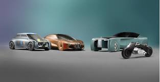 Futuristic BMW Motorrad and the VISION NEXT 100 Vehicles ...