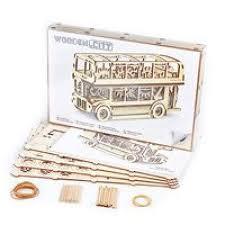 Знайка™   Лондонский автобус. <b>Сборная</b> 3D <b>модель</b> (<b>WOODEN</b> ...