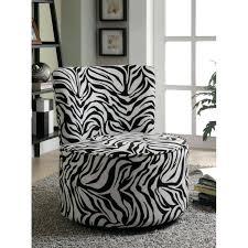black n white furniture. Zebra Accent Chair Black And White Chairs N Furniture