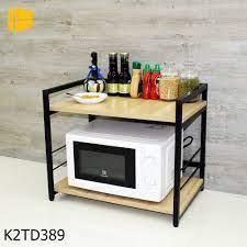 Kệ lò vi sóng 2 tầng kệ bếp, kệ lò nướng - Nội Thất Song Ngân N'Furniture
