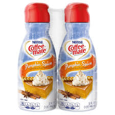 I received the opportunity to try international delight pumpkin pie spice creamer and i finally found a store that had it. Coffee Mate Pumpkin Spice Liquid Coffee Creamer 32 Oz Pack Of 2 Buy Online In Guyana At Guyana Desertcart Com Productid 47316476