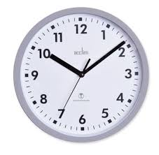 wall clock for office. New Radio Controlled Wall Clock Office Kitchen 20cm Accurate Top Quality UK Fast For