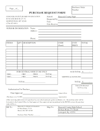 Purchase Order Form Template Classy Purchase Requisition Pr Form Template Free Order 48 Kinds Financial