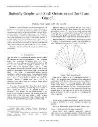 PDF) Butterfly Graphs with Shell Orders m and 2m+1 are Graceful | Bonfring  International Journal - Academia.edu