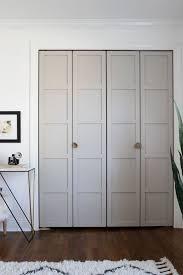 a once neglected home beautifully red in the midwest design sponge design sponge sneak ks closet doors doors and bedrooms