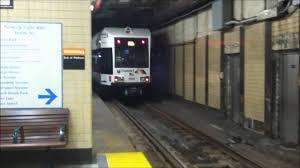 Newark Light Rail Trains In Newark Penn Station