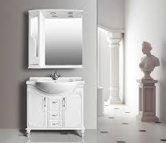 Купить мебель для ванной Атолл Барселона 295 rame (белое ...