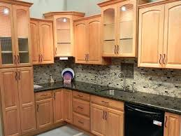kitchen countertop ideas with light oak cabinets best kitchen tile with oak ideas on white oak