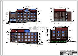 Управление объектом недвижимости на примере банковского офиса  1 фасад