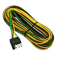 trailer wiring harness kit amazon com wesbar 707261 wishbone style trailer wiring harness 4 flat connector