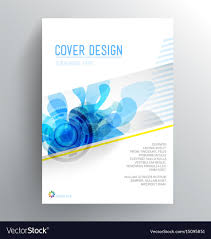 Book Cover Design Free Download Book Cover Design Template With Abstract Splash