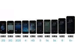 iphone 1 6. iphone 1 al 6 plus: ¿cuál de todos prende primero? (video iphone