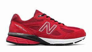 new balance shoes red and black. new balance m990rd4 990v4 men lifestyles shoes,red with black shoes red and