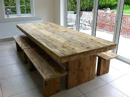 table bench set dining room table and bench set oak tab us regarding wooden kitchen with table bench set