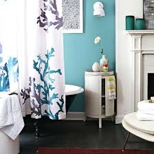 Seaside Decorating Accessories Green And Blue Bathroom Accessories Coral And Sea Shells For 88