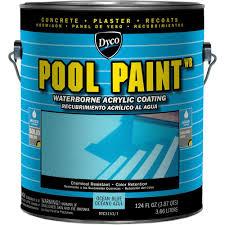 Dyco Paints Pool Paint 1 Gal 3151 Ocean Blue Semi Gloss Acrylic