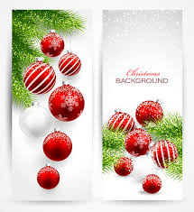 christmas ornament banner.  Christmas Red With White Christmas Decorations Banner To Christmas Ornament Banner T