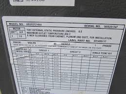 goodman 5 ton air handler. goodman aruf37c14aa 3 ton standard multi positional air handler **nnb** | what\u0027s it worth 5 x
