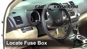 interior fuse box location 2008 2013 toyota highlander 2012 2016 Toyota Highlander Fuse Box Diagram interior fuse box location 2008 2013 toyota highlander 2015 toyota highlander fuse box diagram