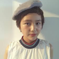 ベレー帽のかわいいヘアアレンジショートロングまで 春夏秋冬 I