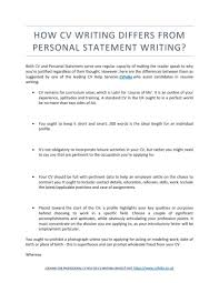 Resume Personal Statements Templates Memberpro Co How To Start