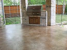 stained concrete patio floors